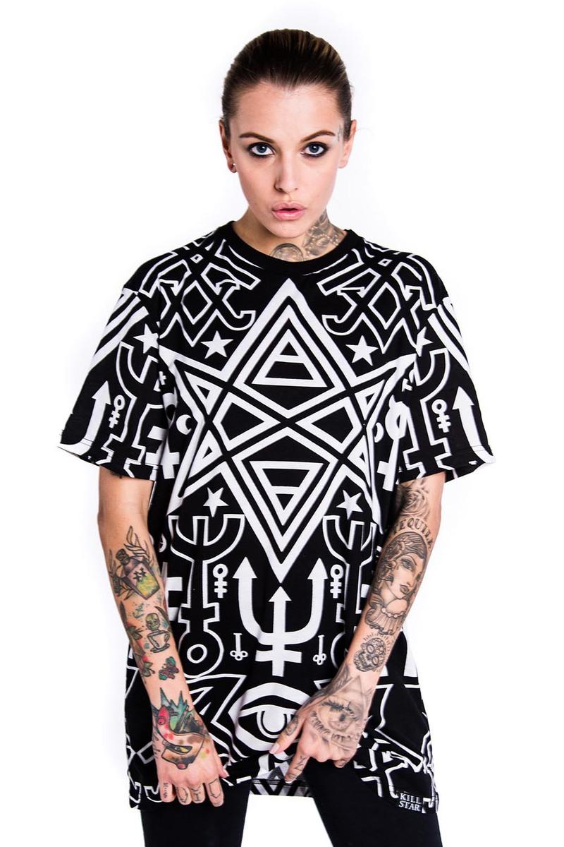 tričko (unisex) KILLSTAR - Thelema - Black - KIL065