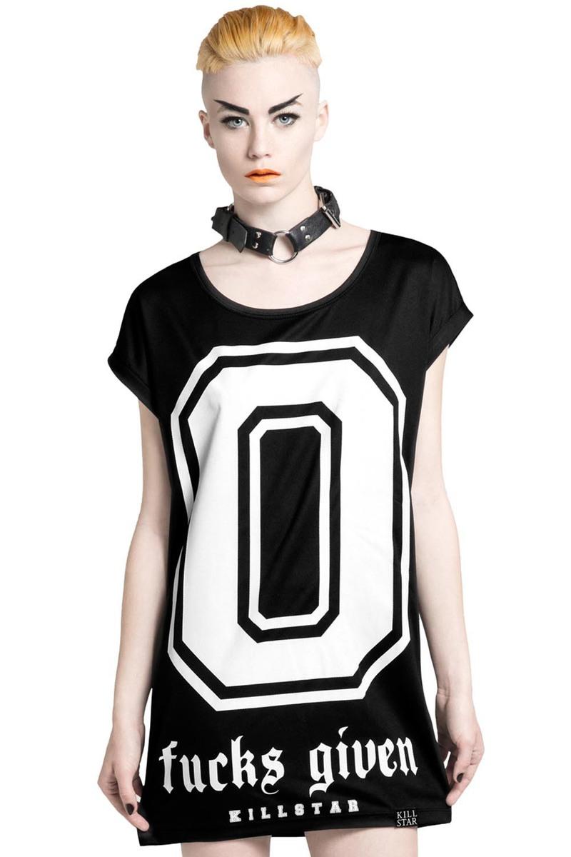 tričko dámské (tunika) KILLSTAR - Zero - Black - KIL121