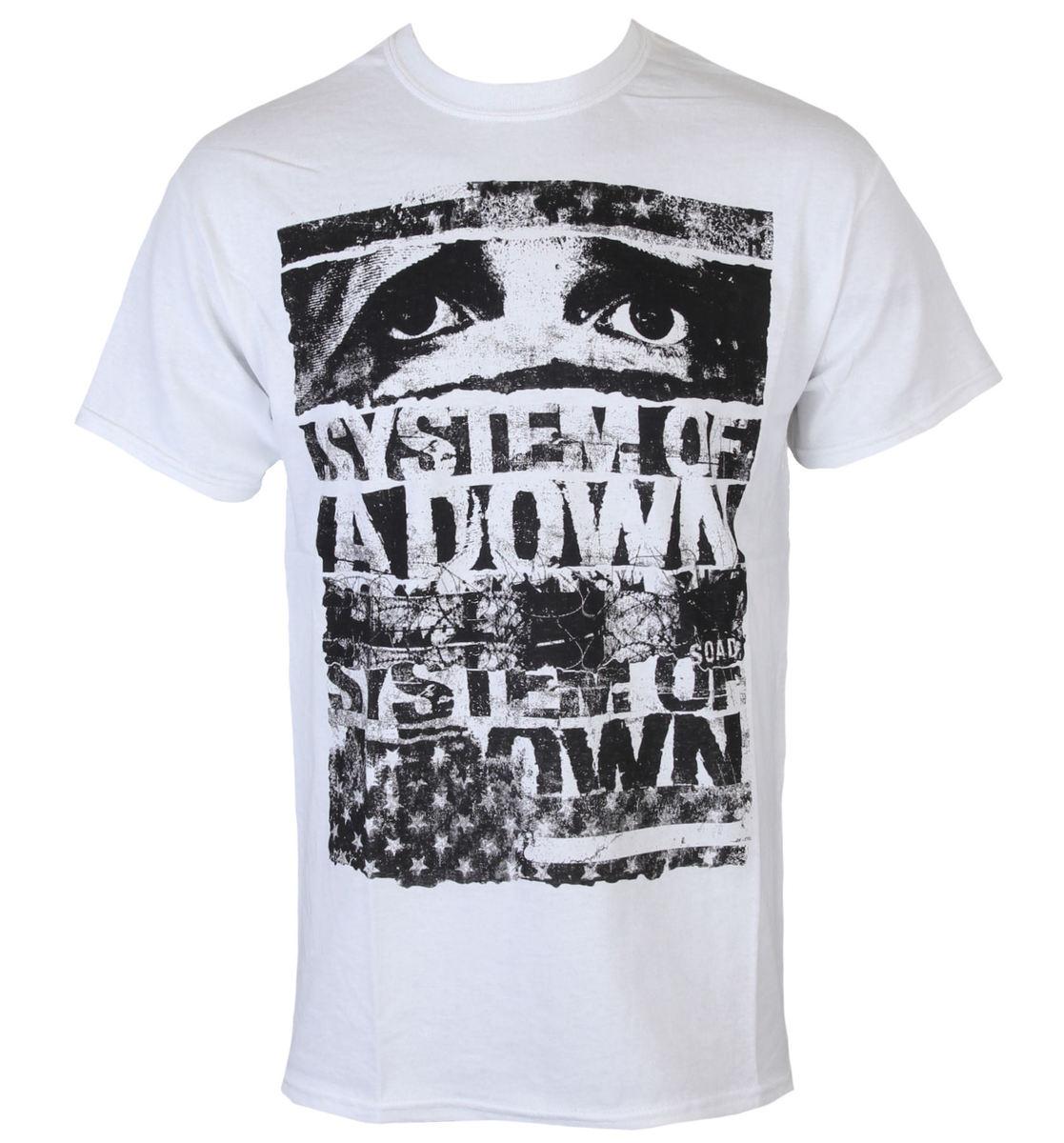 tričko pánské System Of A Down - Torn - ROCK OFF - SOADTS01MW