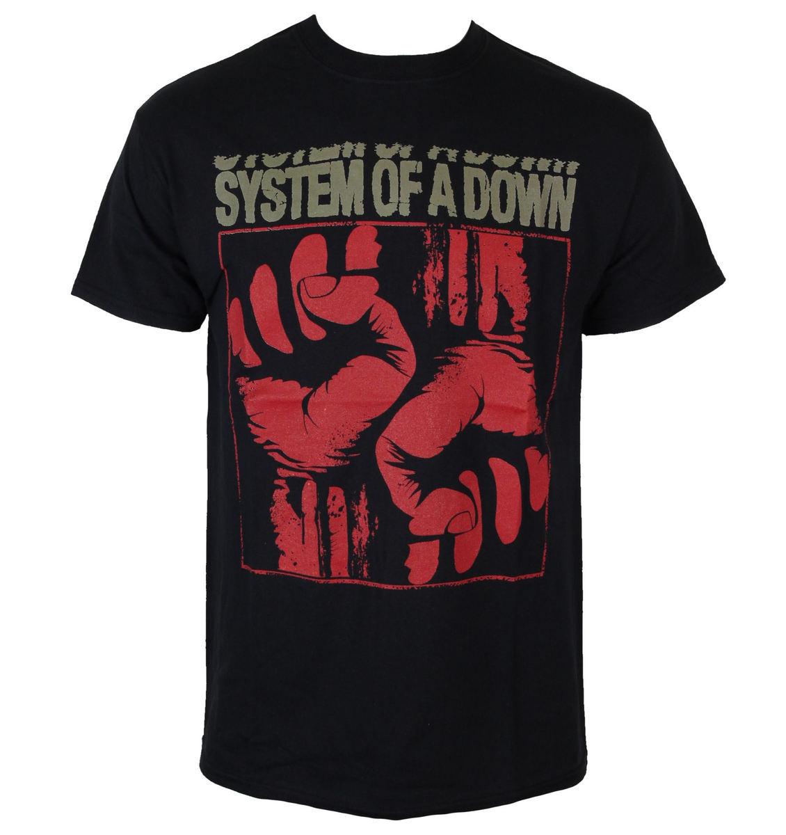 tričko pánské System Of A Down - Fistacuff - ROCK OFF - SOADTS03MB