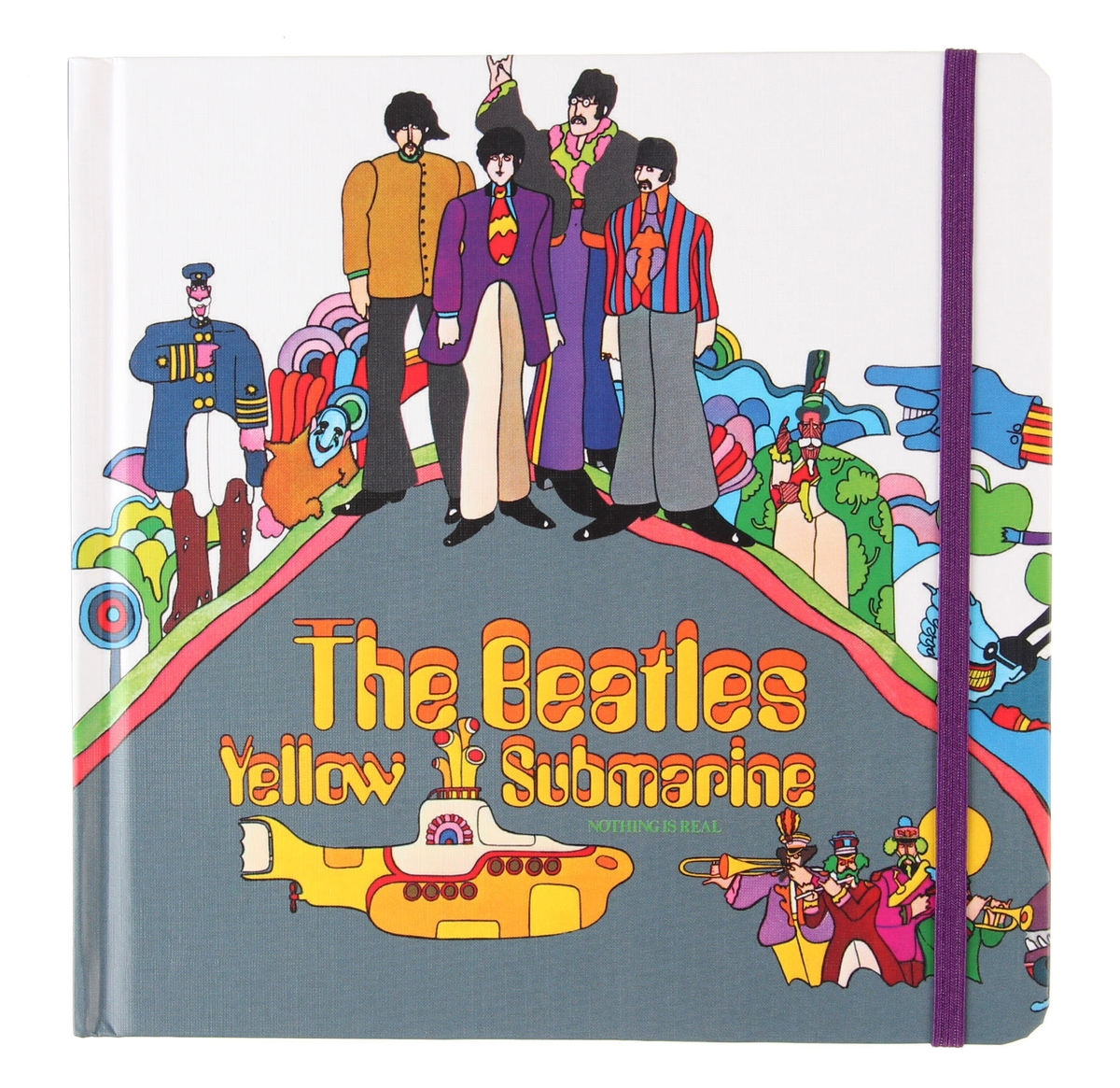 poznámkový blok Beatles - Yellow Submarine - ROCK OFF - YSNB01