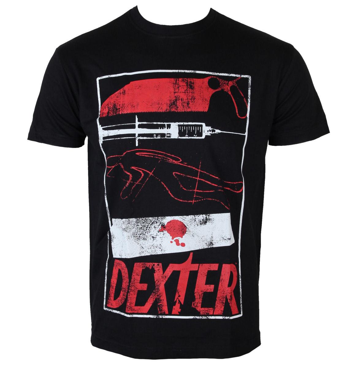 tričko pánské Dexter - Signs - Black - HYBRIS - CBS-1-DXT006-H50-16