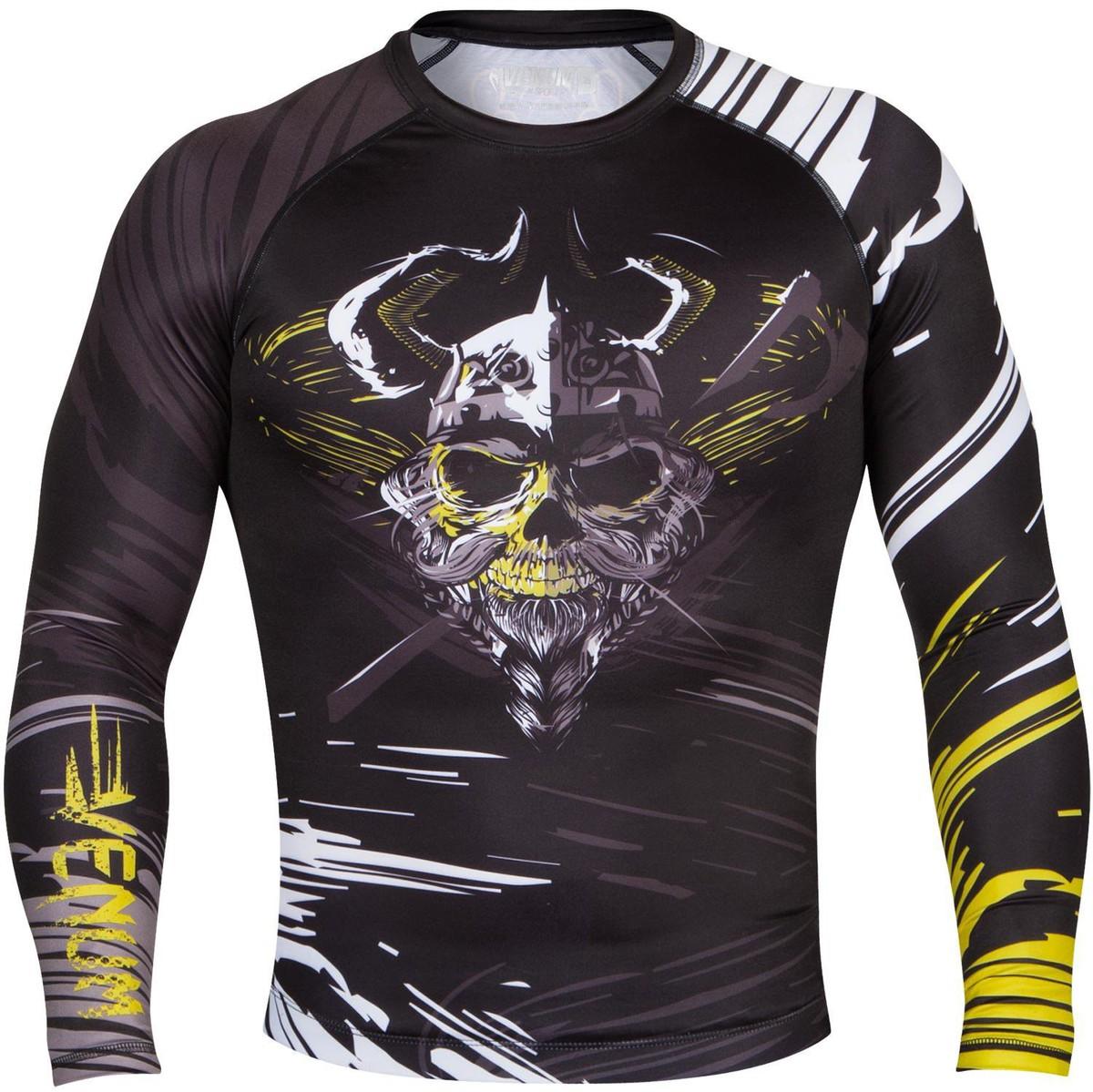 tričko pánské (termo) VENUM - Viking Rashguard - Black - 02542-001
