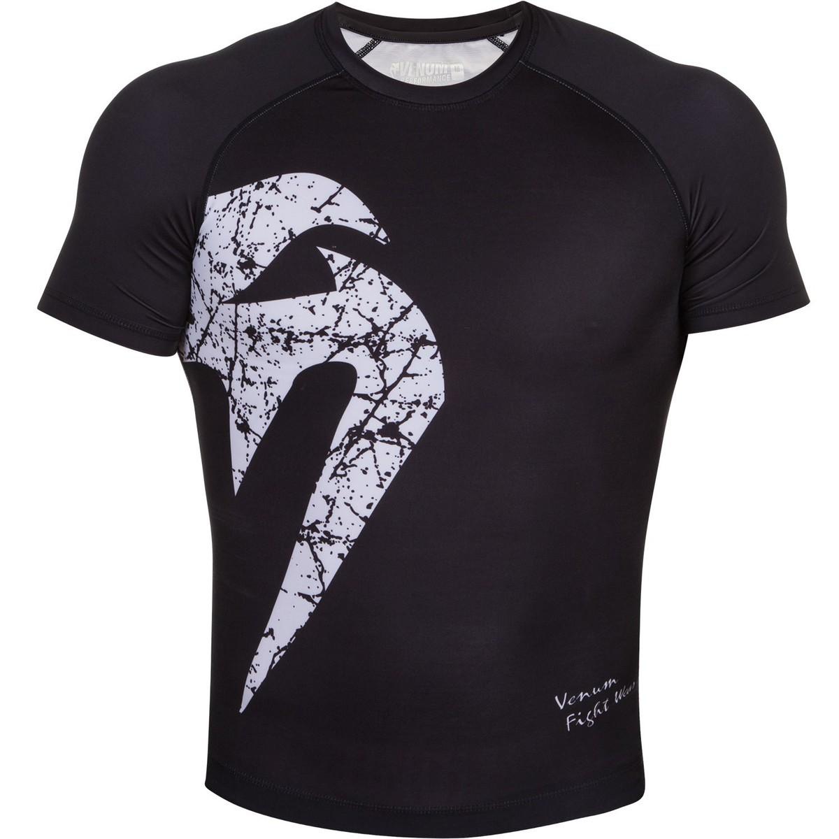 tričko pánské (termo) VENUM - Original Giant Rashguard - Black/White - 02723-108