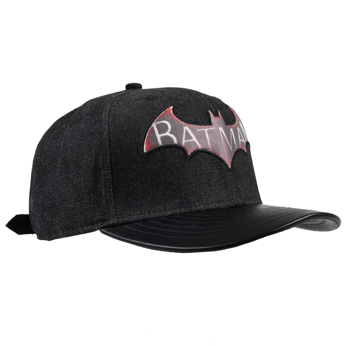 kšiltovka Batman - Logo Arkham Knight - Black - LEGEND - ACARKAGCP001