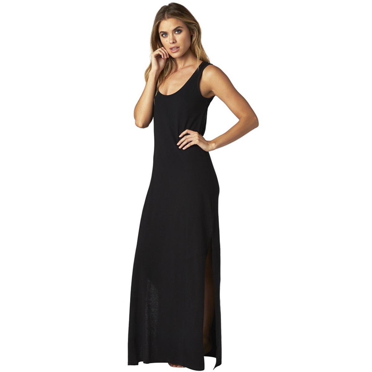 šaty dámské FOX - Screen Maxi - Black - 16561-001 S