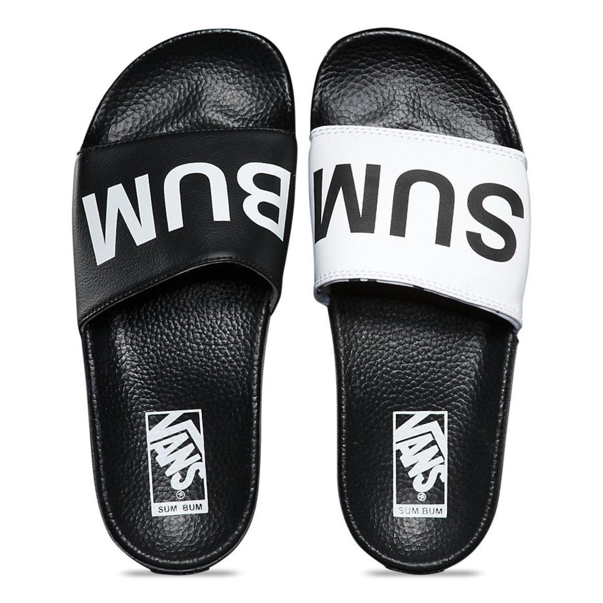 sandály dámské VANS - Slide-On (Summer Bummer) - Black - V4LGIVY