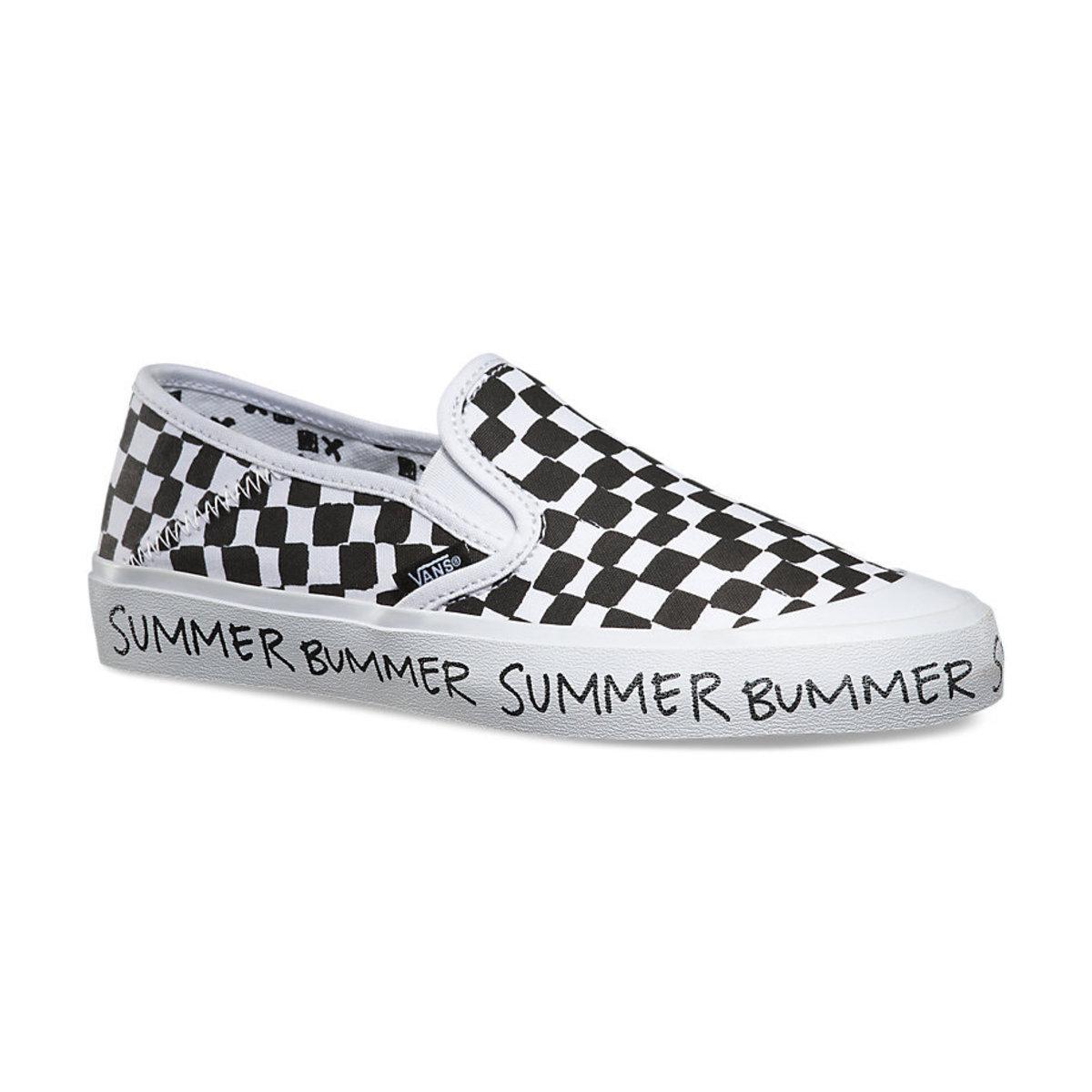 boty dámské VANS - Slip-On (Summer Bummer) Checkeboard - V19SIK0