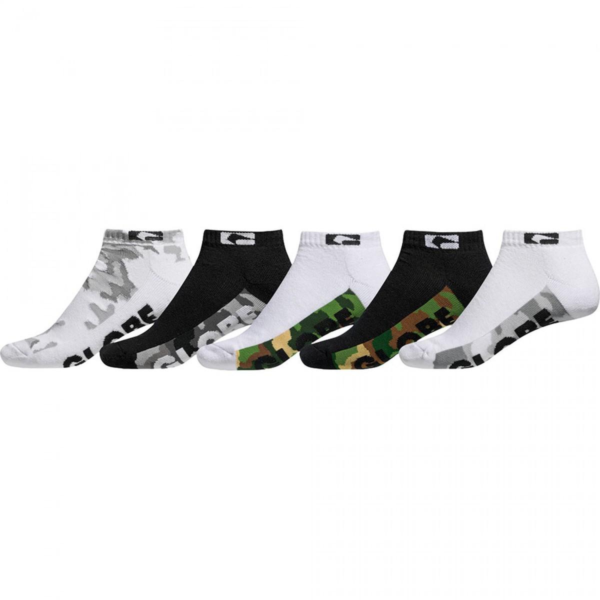ponožky GLOBE - Malcom Ankle - Camo - GB71039041