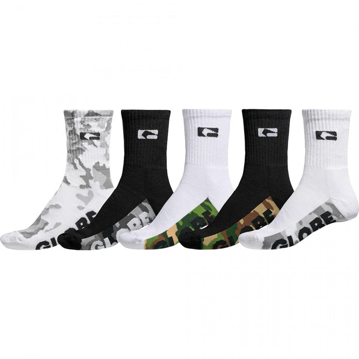 ponožky GLOBE - Malcom Crew - Camo - GB71039042