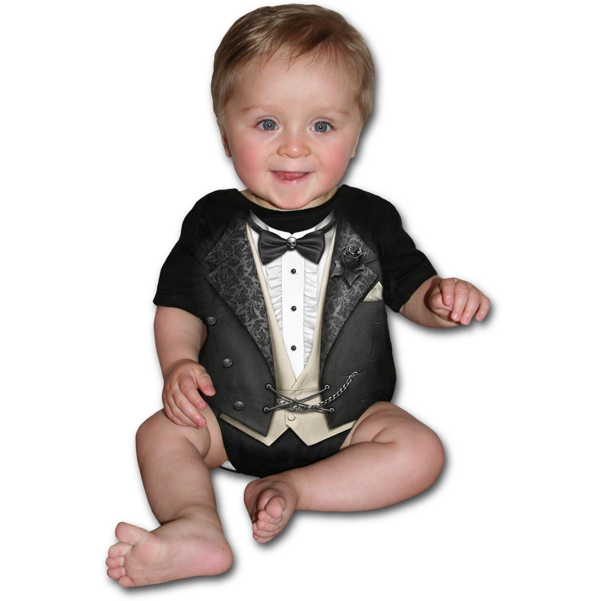 body dětské SPIRAL - Tuxed - F030K002