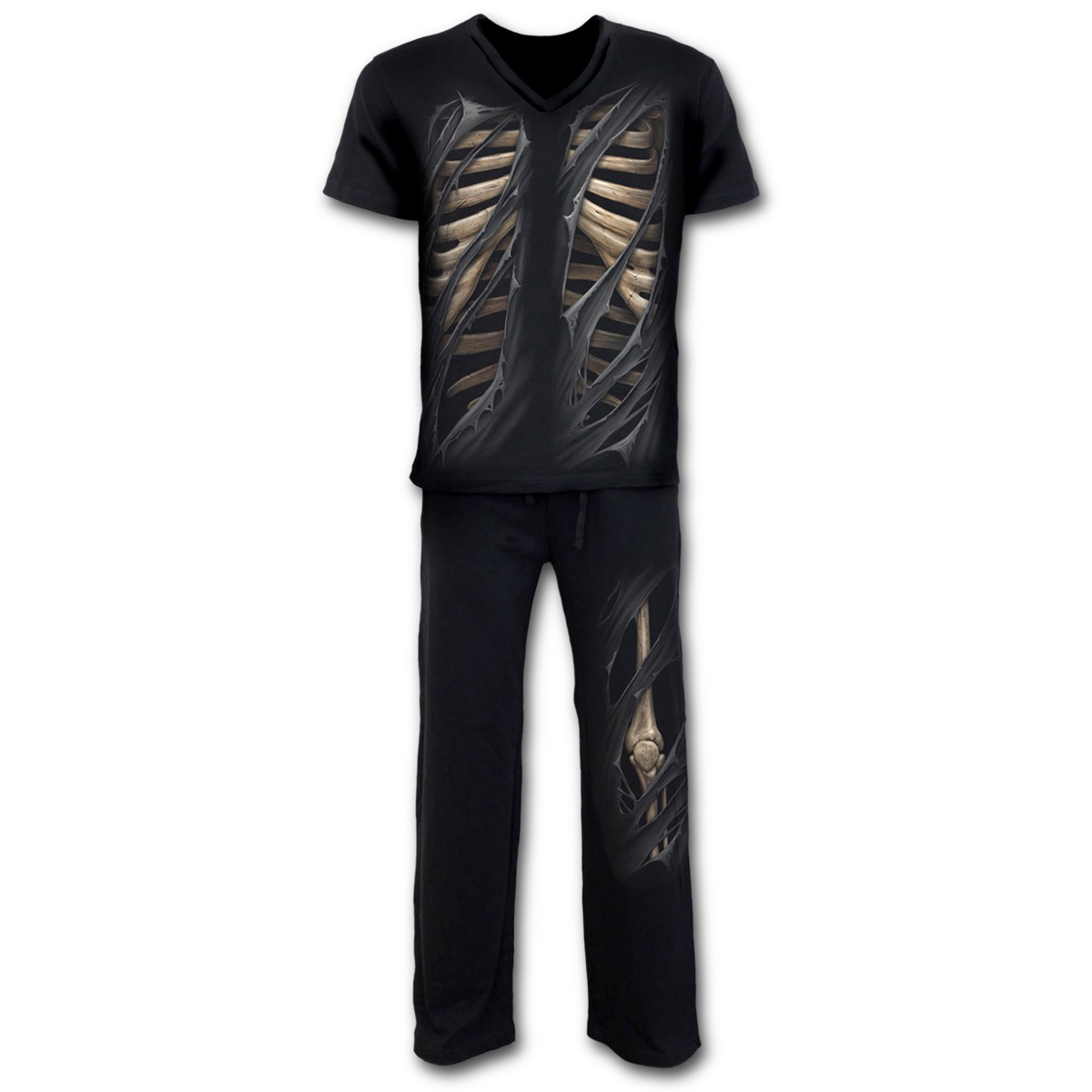 pyžamo pánské (set) SPIRAL - Bone Rips - K033M631 S