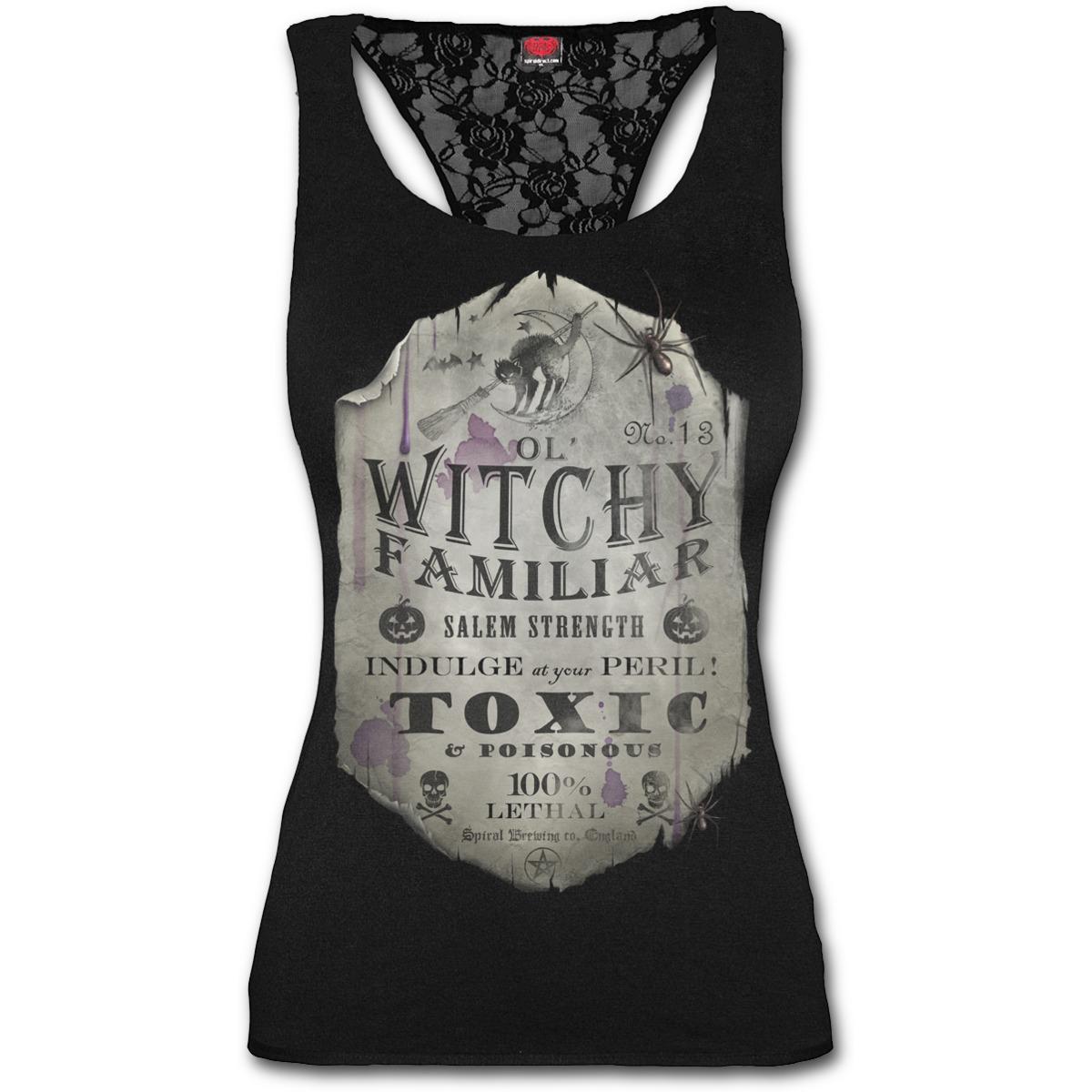 tričko dámské SPIRAL - Witchy Familiar - D065G051
