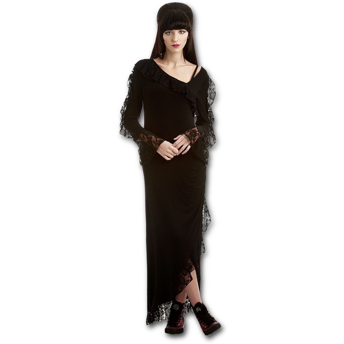šaty dámské SPIRAL - Gothic Elegance - P001F129 XL