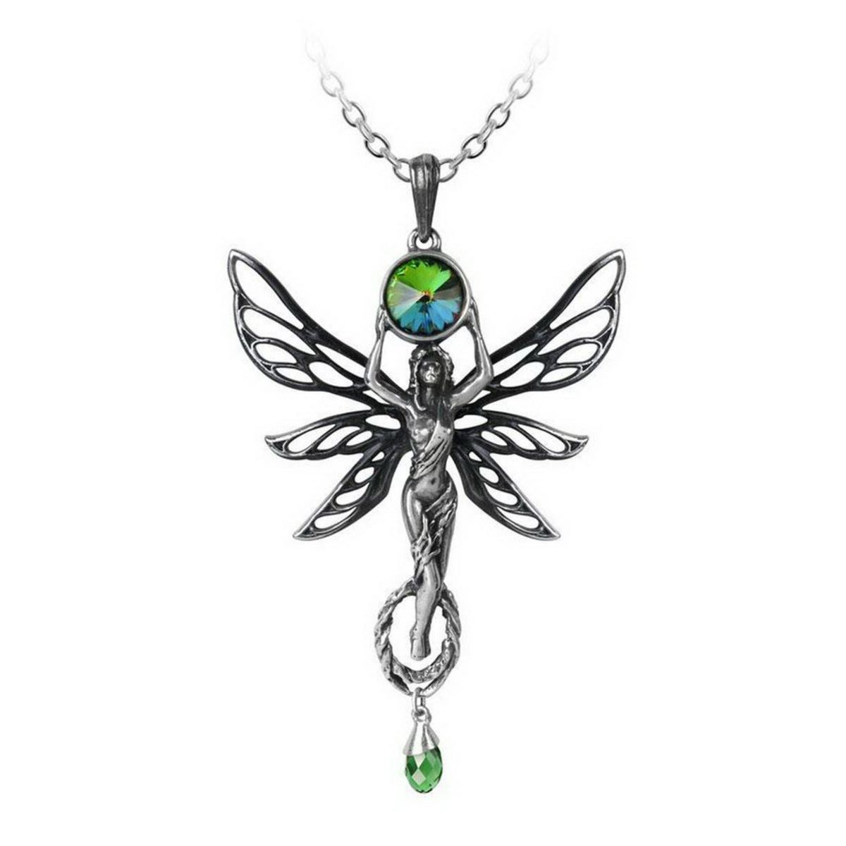 obojek ALCHEMY GOTHIC - The Green Goddess - P763