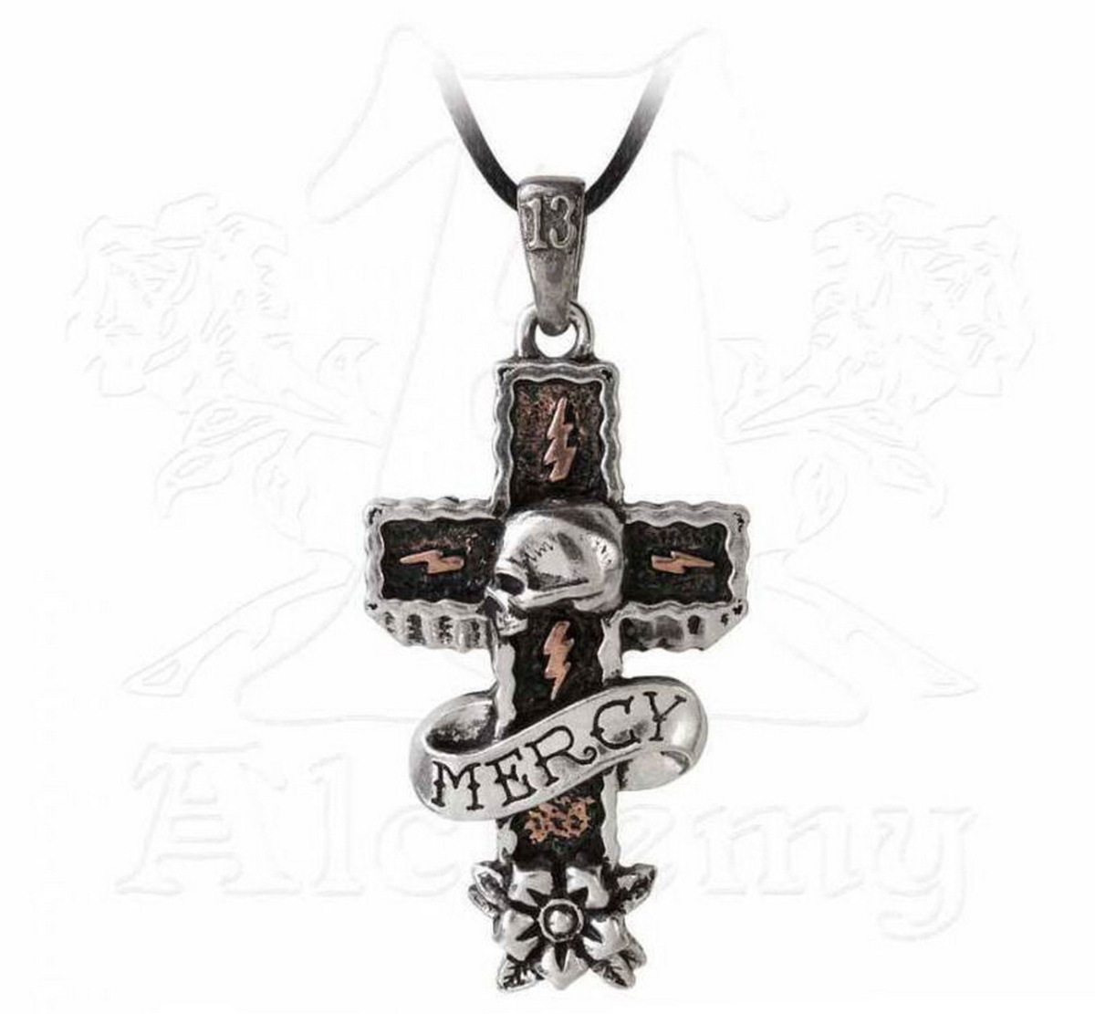 obojek ALCHEMY GOTHIC - Mercy Cross - ULP45