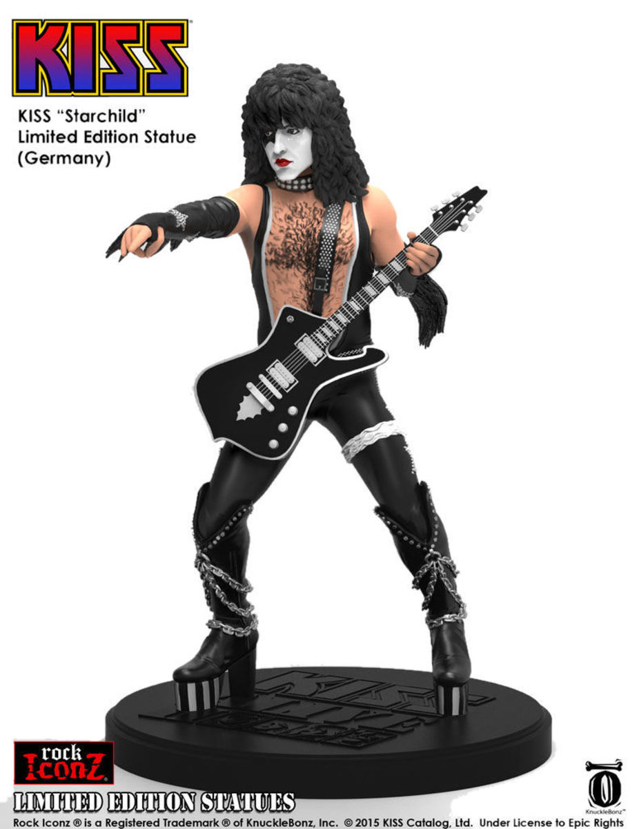 figurka KISS - The Starchild - KNUCKLEBONZ - KBKISS100