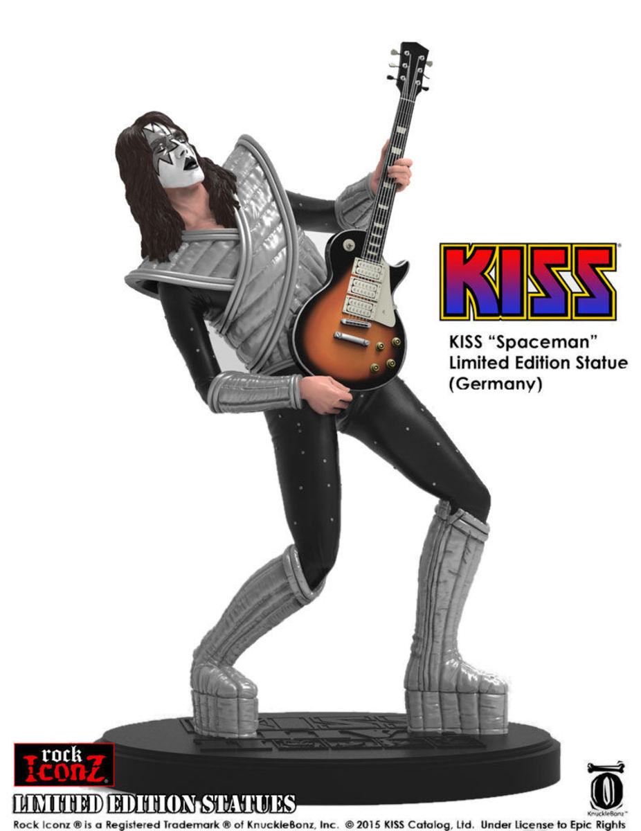 figurka KISS - The Spaceman - KNUCKLEBONZ - KBKISS100