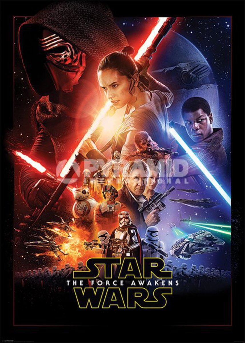 plakát Star Wars - Episode VII - One Sheet - PYRAMID POSTERS - GPP51069