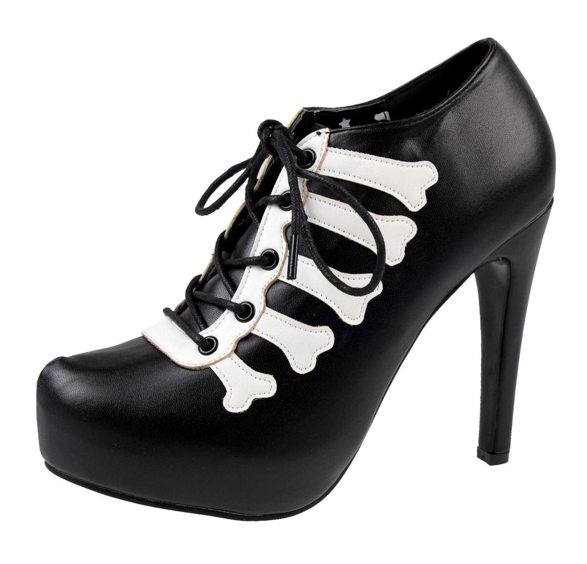 boty dámské (střevíce) IRON FIST - Wishbone Platform - Black - IFW004412