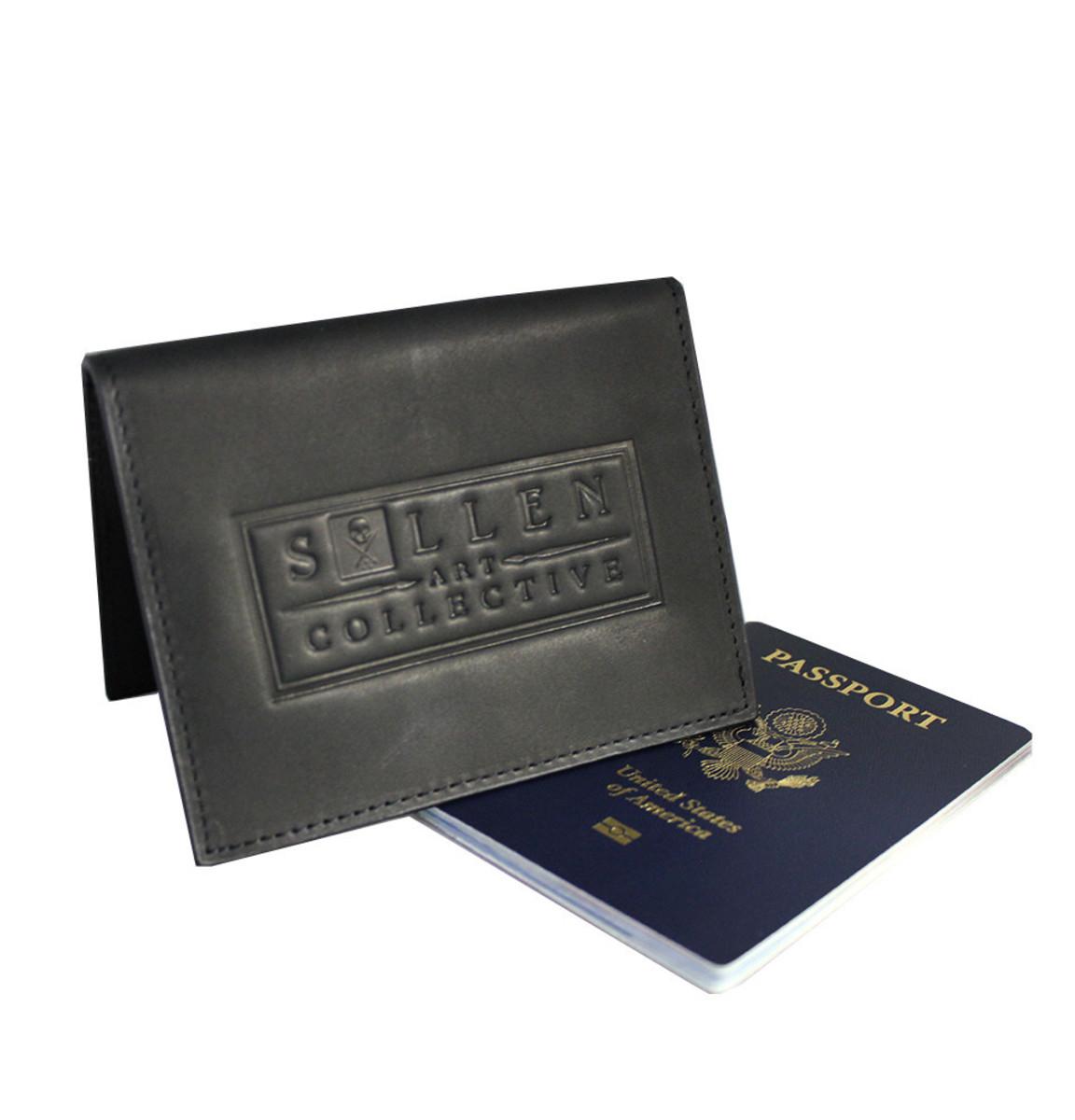 pouzdro na doklady SULLEN - Worldwide Passport - Black - SUL024