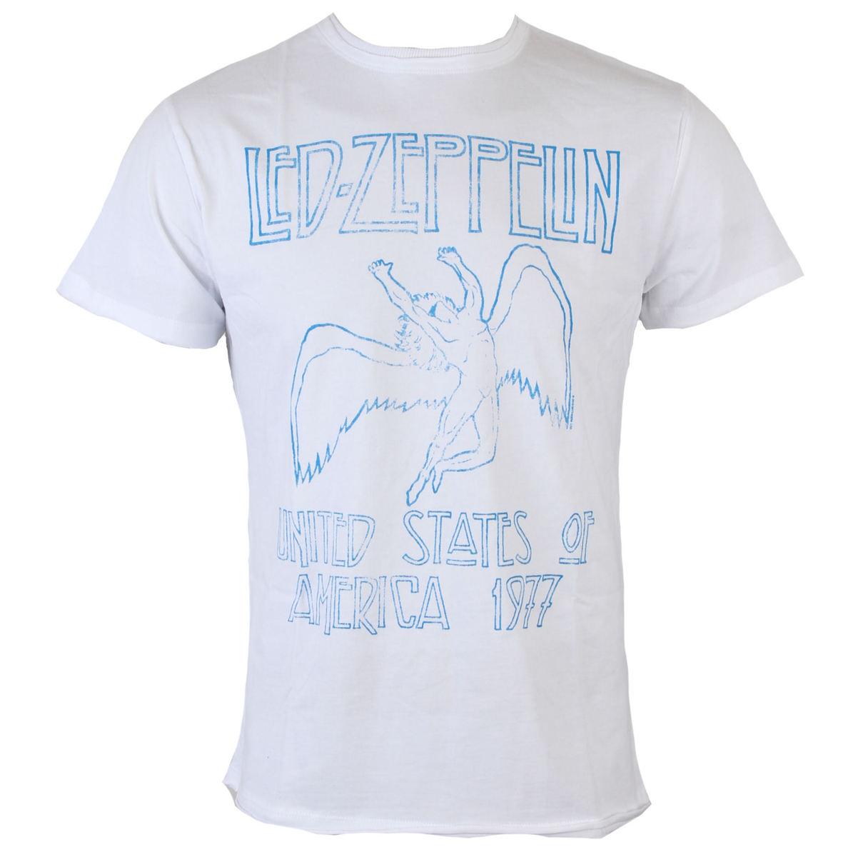 tričko pánské Led Zeppelin - Wht - AMPLIFIED - AV210LT7