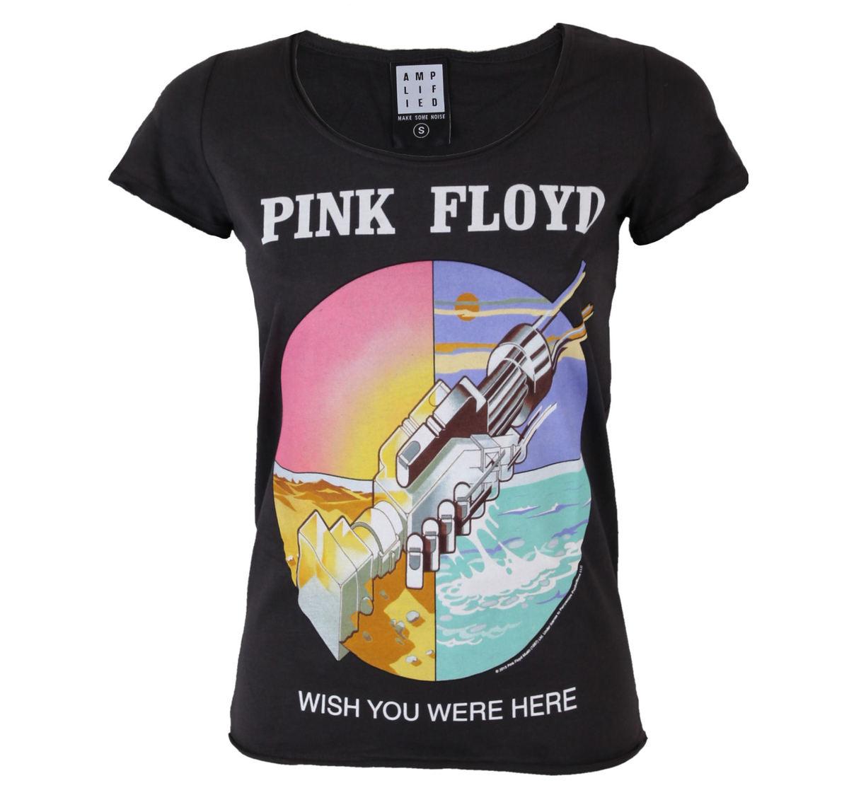 tričko dámské Pink Floyd - AMPLIFIED - AV601PFW