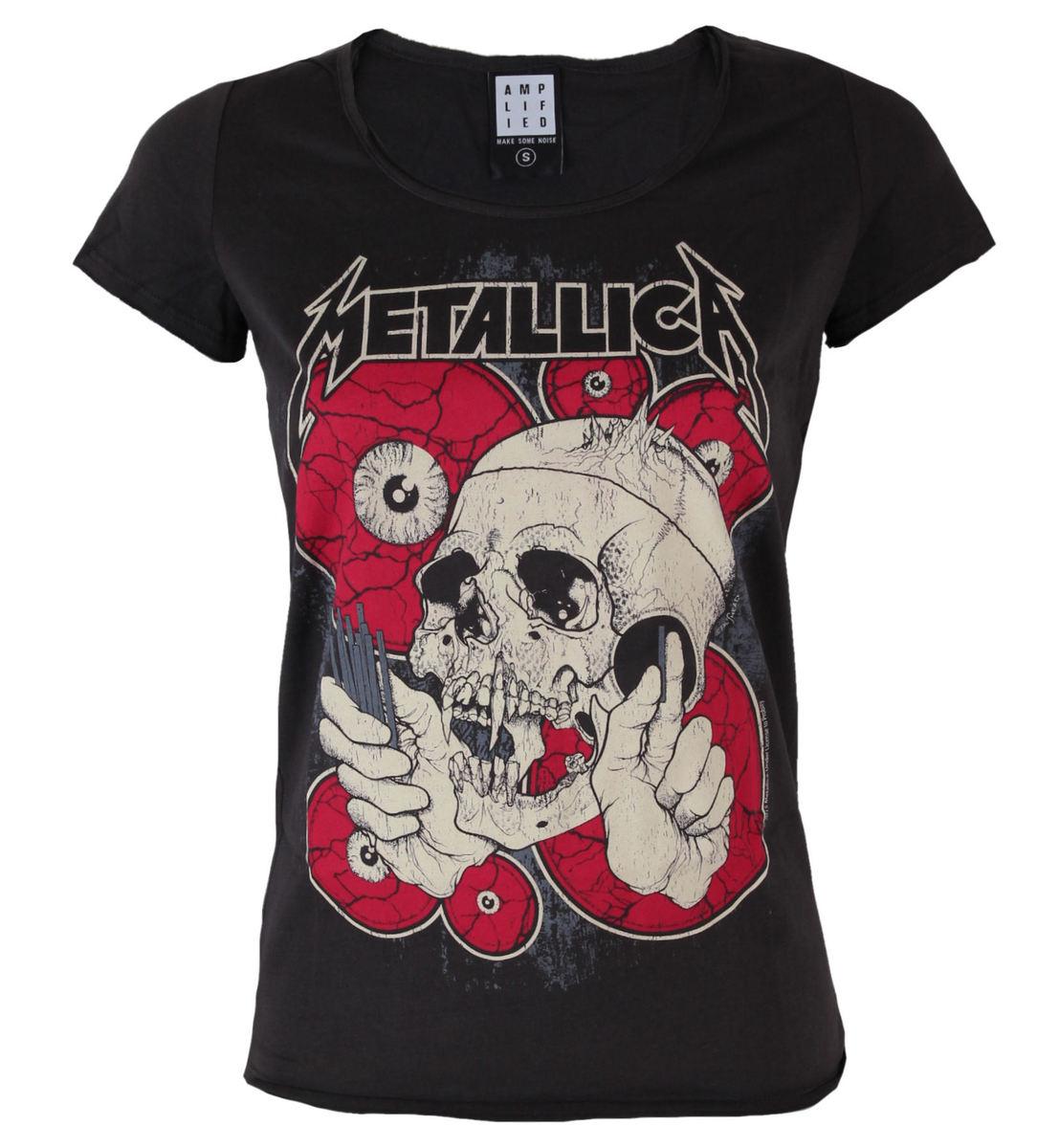 tričko dámské Metallica - AMPLIFIED - AV601WYU