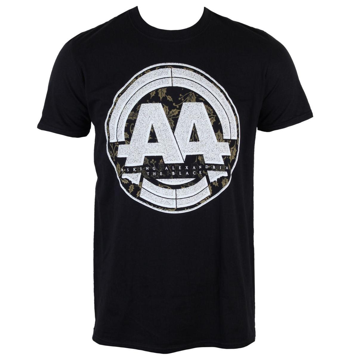 tričko pánské Asking Alexandria - Album Stamp - Black - LIVE NATION - PE13489TSBP
