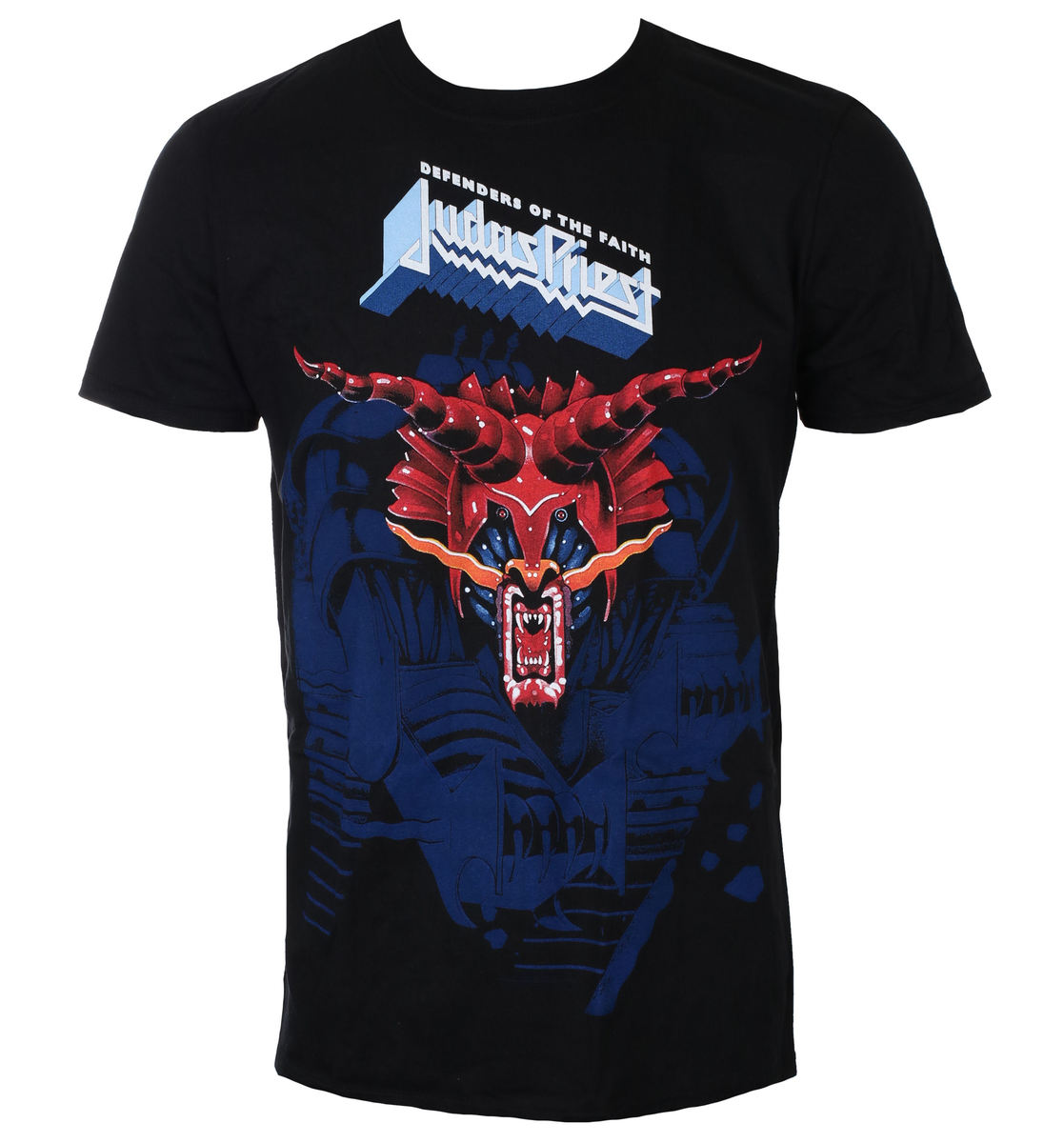 tričko pánské Judas Priest - Defenders Blue - ROCK OFF - JPTEE13MB