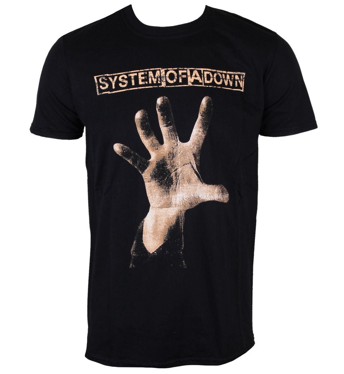 tričko pánské System Of A Down - Hand - ROCK OFF - SOADTS05MB