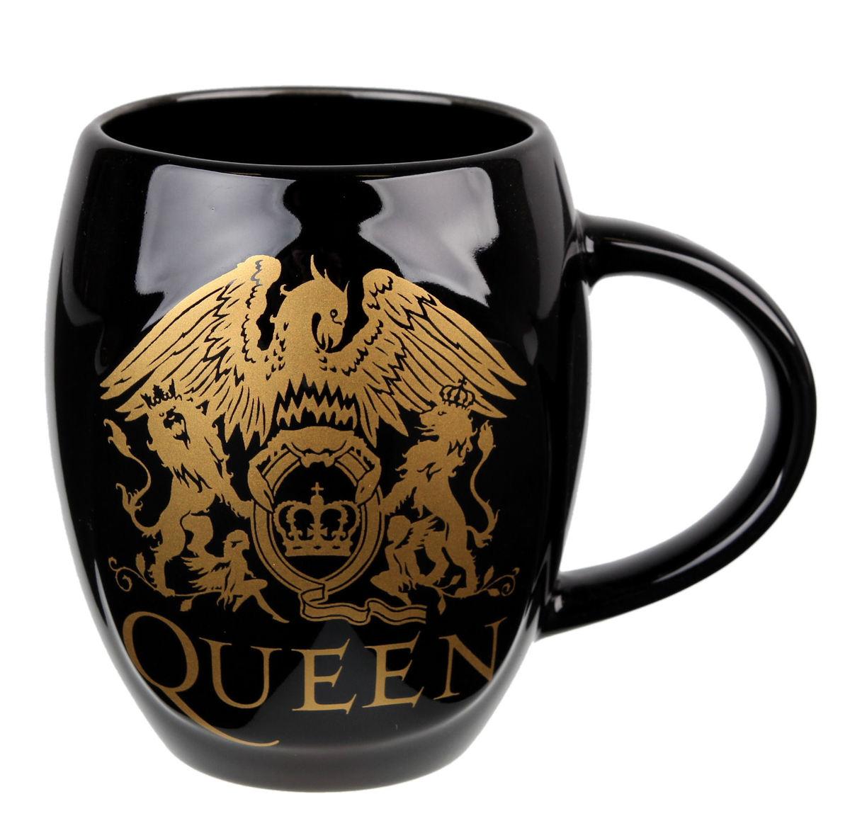 hrnek Queen - Gold - ROCK OFF - QUMUG05