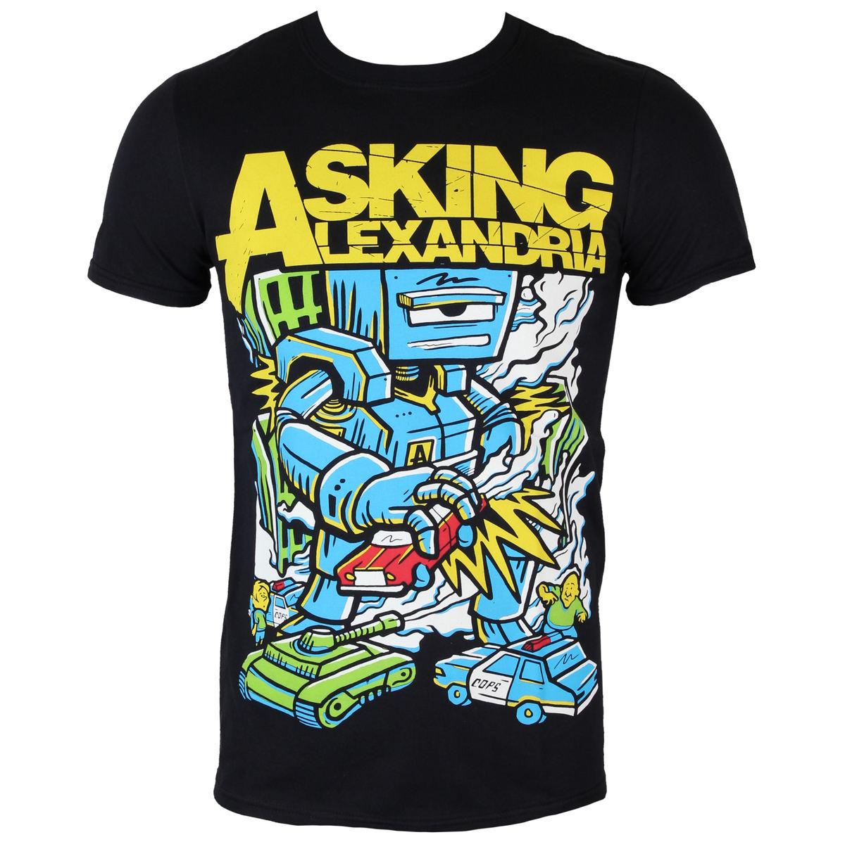 tričko pánské Asking Alexandria - Killer Robot - BLK - ROCK OFF - ASKTS13MB