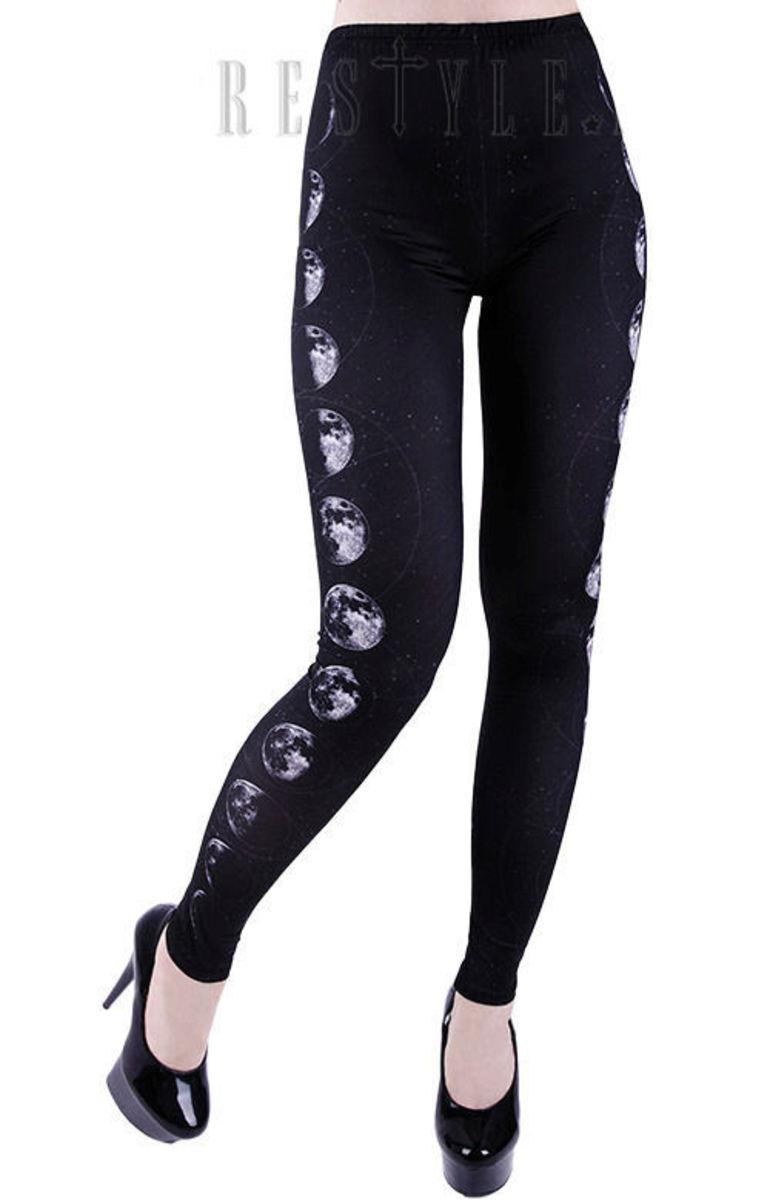 kalhoty dámské (legíny) RESTYLE - RES012
