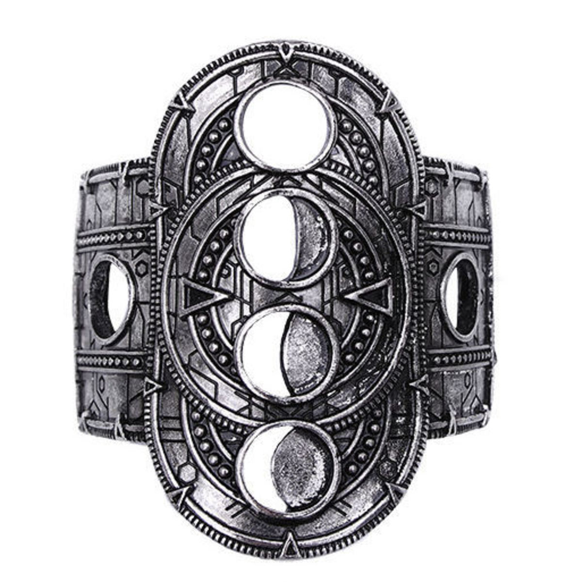 náramek RESTYLE - Hollow Moon Silver - RES006