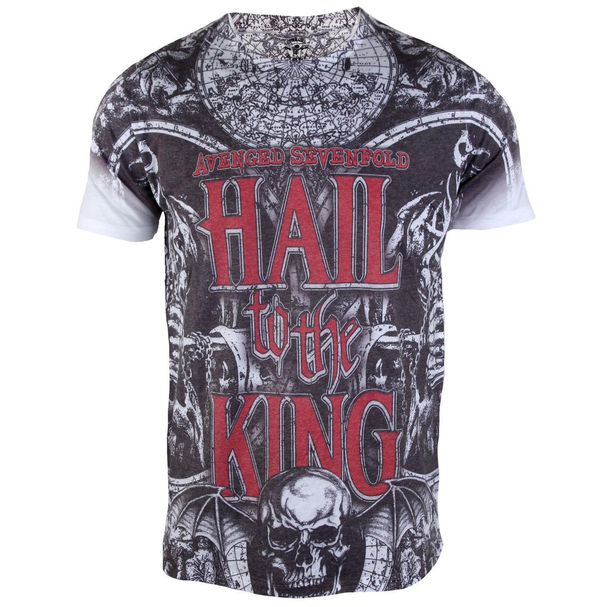 tričko pánské Avenged Sevenfold - Chalice All Over - ROCK OFF - ASTS35MW