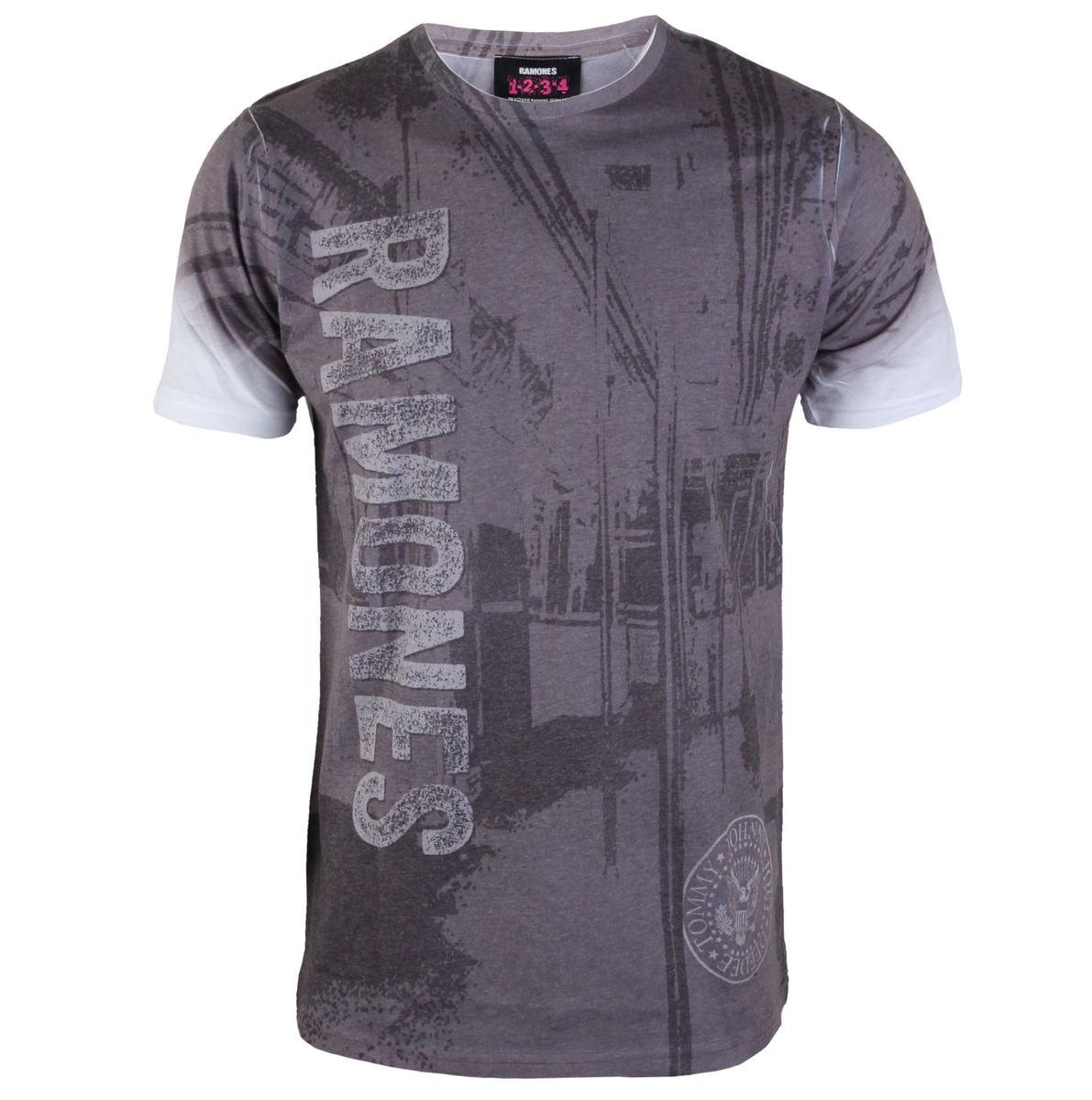 tričko pánské Ramones - Ramones Subway - ROCK OFF - RATS23MW