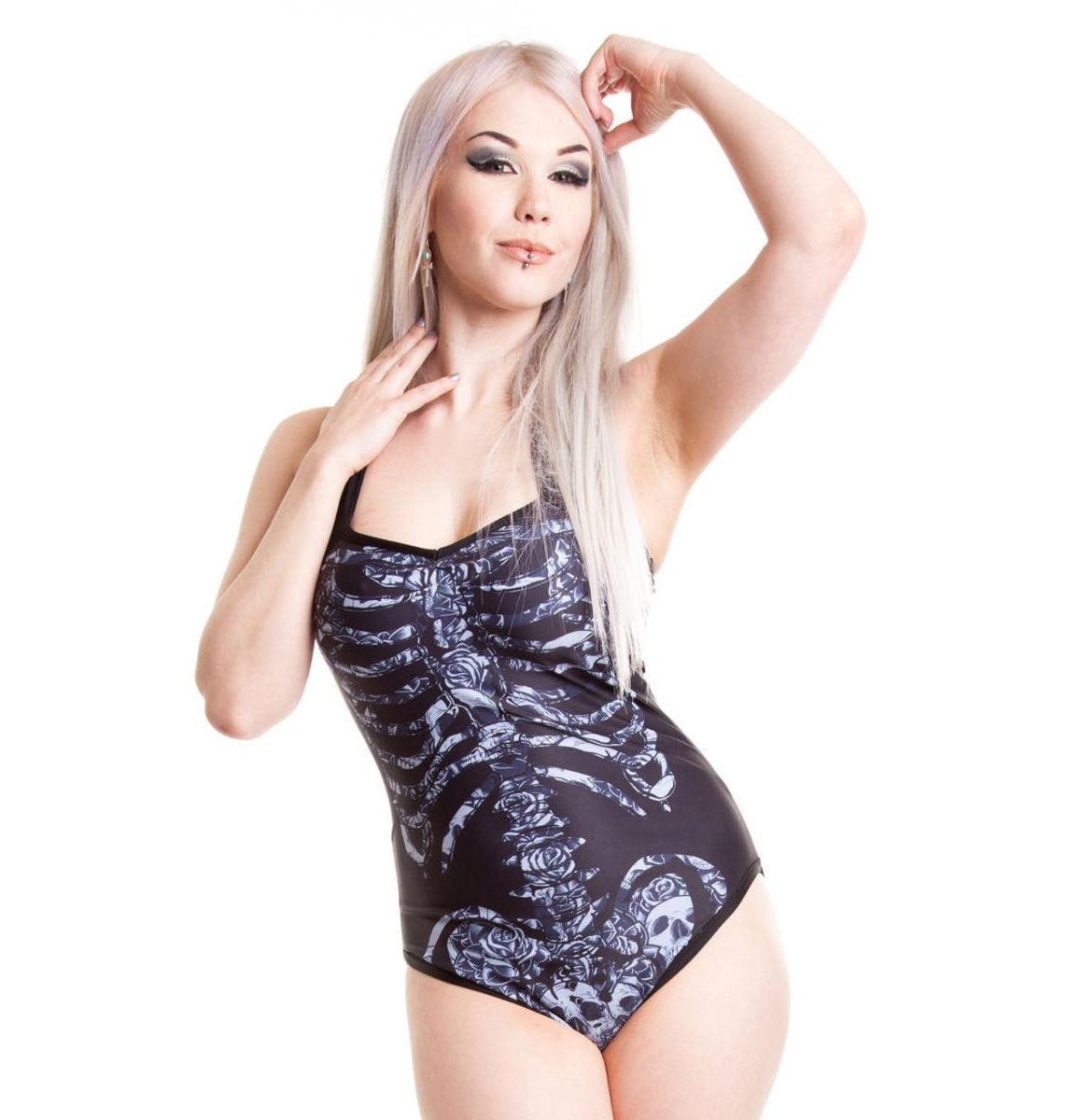 plavky dámské POIZEN INDUSTRIES - Eternal - Black - POI104