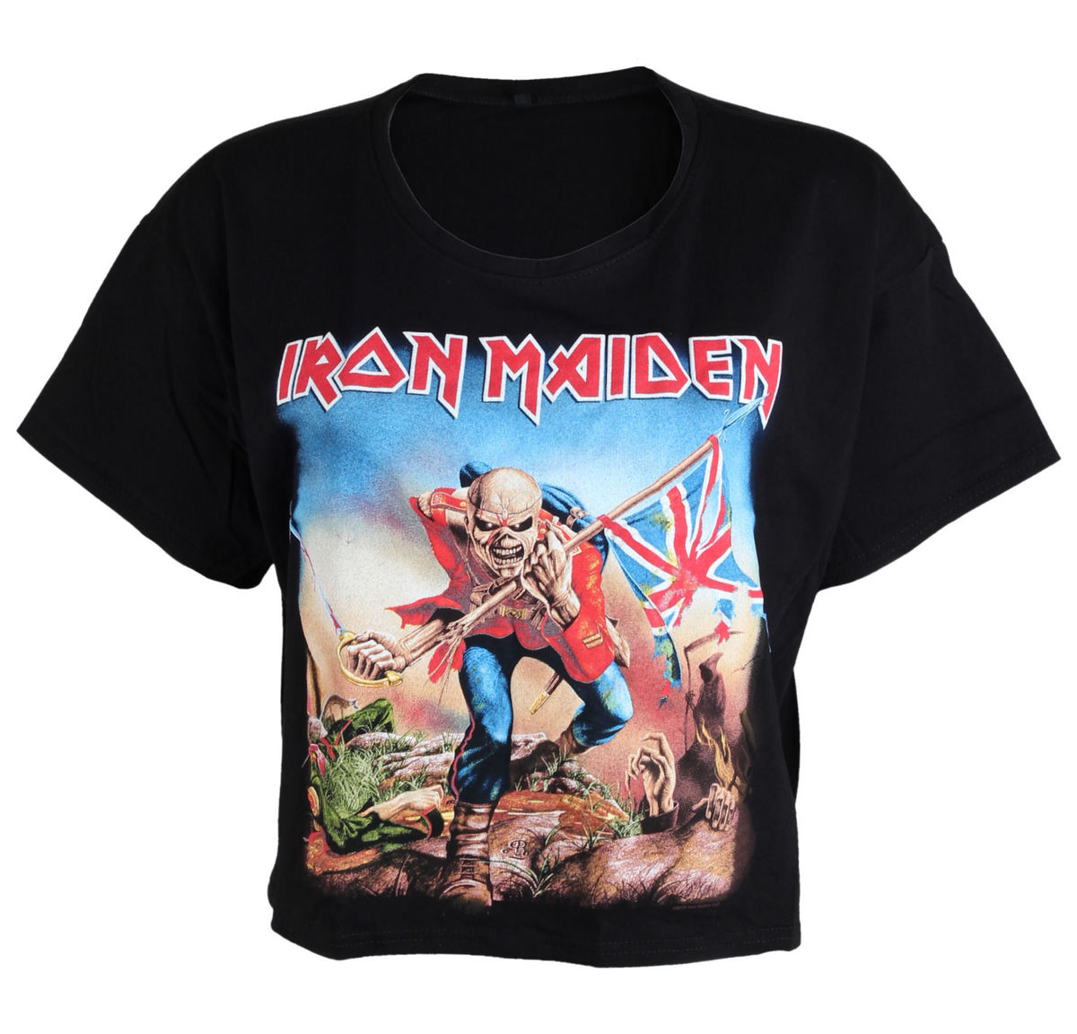 ROCK OFF Iron Maiden Trooper černá