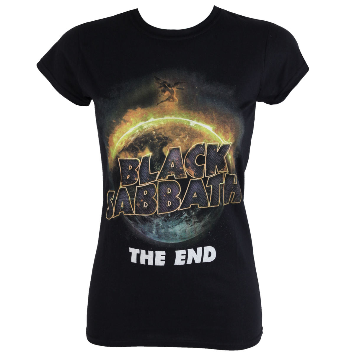 tričko dámské Black Sabbath - The End - ROCK OFF - BSTS20LB