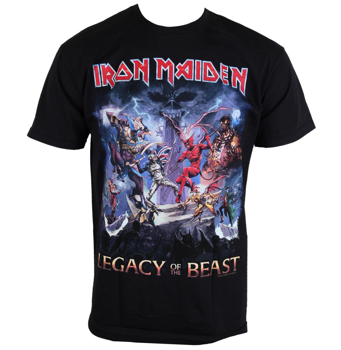 tričko pánské Iron Maiden - Legacy Of The Beast - ROCK OFF - IMTEE55MB