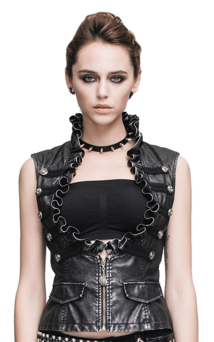 vesta dámská Devil Fashion - Gothic Zora - DVWT00501