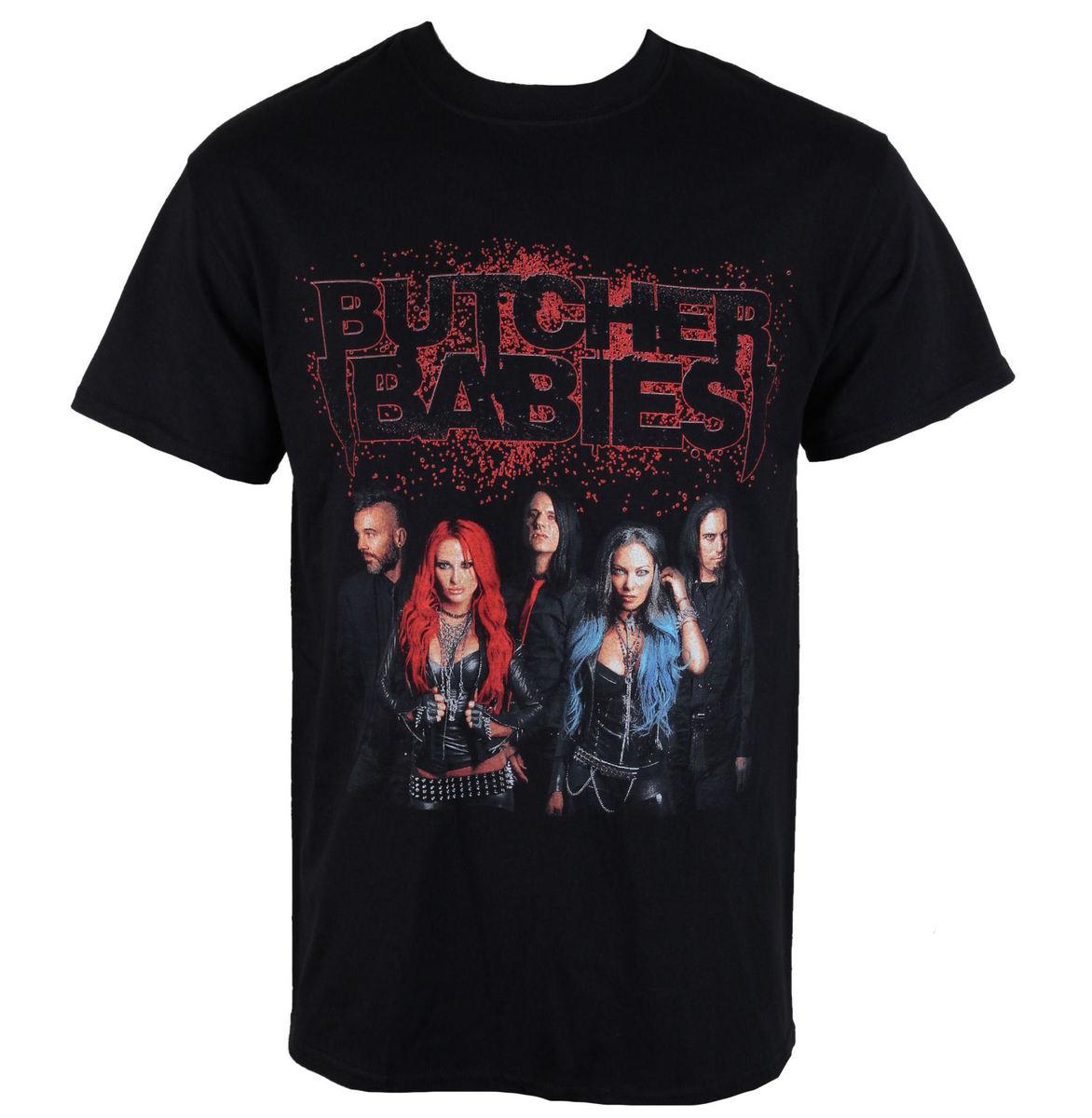tričko pánské BUTCHER BABIES - BAND SHOT - RAZAMATAZ - ST2040