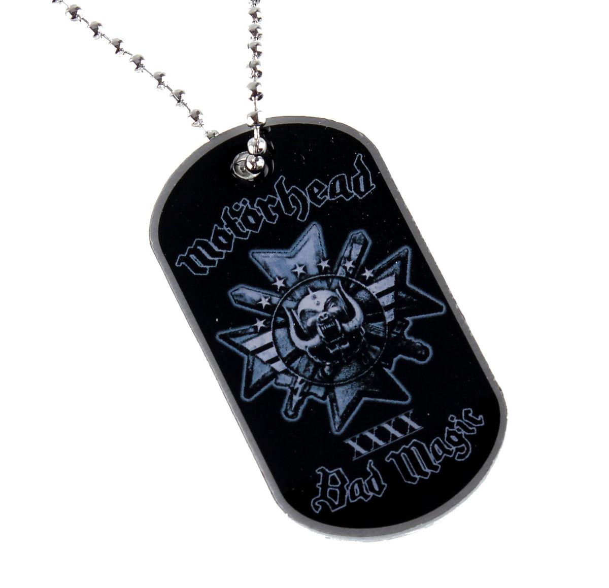 obojek (psí známka) Motörhead - BAD MAGIC - RAZAMATAZ - DT073