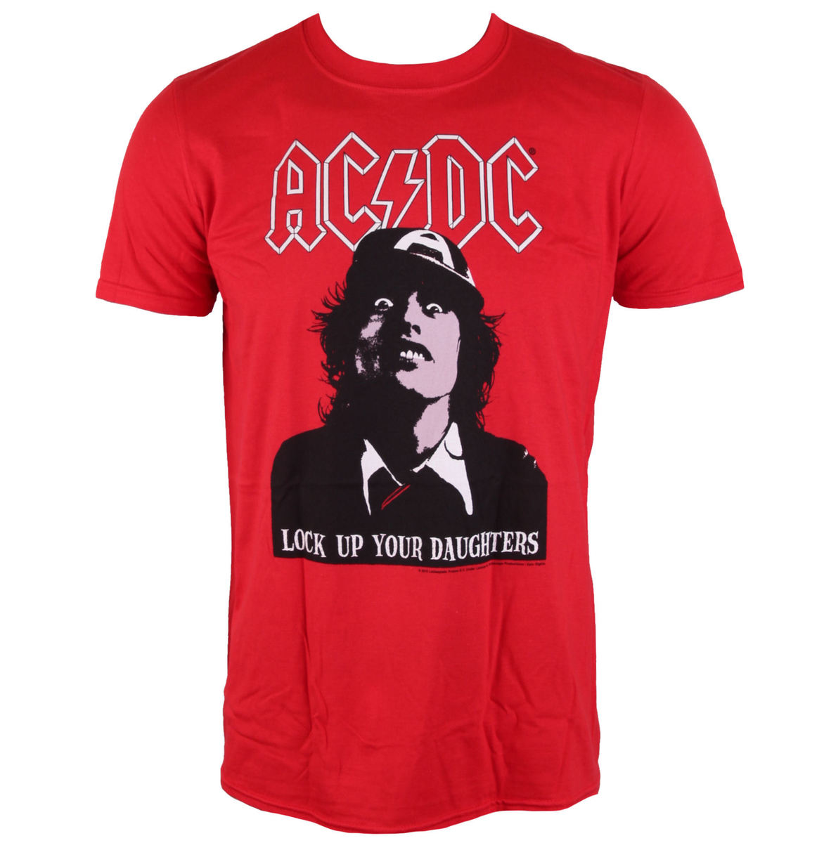tričko pánské AC/DC - LOCK UP YOUR DAUGHTERS - LIVE NATION - PE13748TSCP