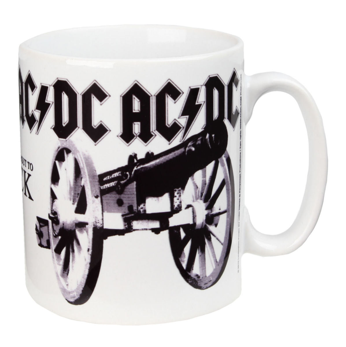 hrnek AC/DC - For Those About To Rock - PLASTIC HEAD - PHMUG383