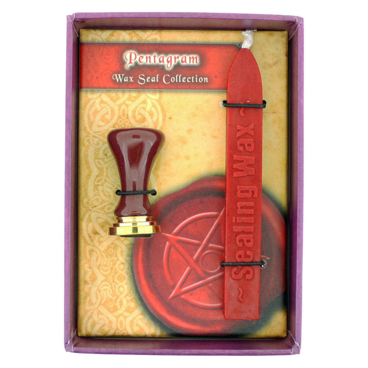 vosková pečeť Pentagram - NENOW - B1880F6