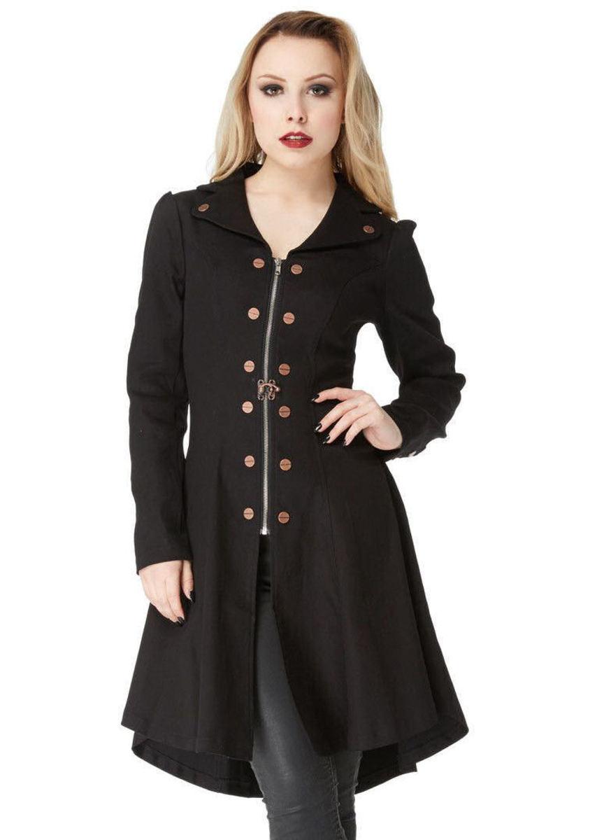 kabát dámský VOODOO VIXEN - Black - JKA3857