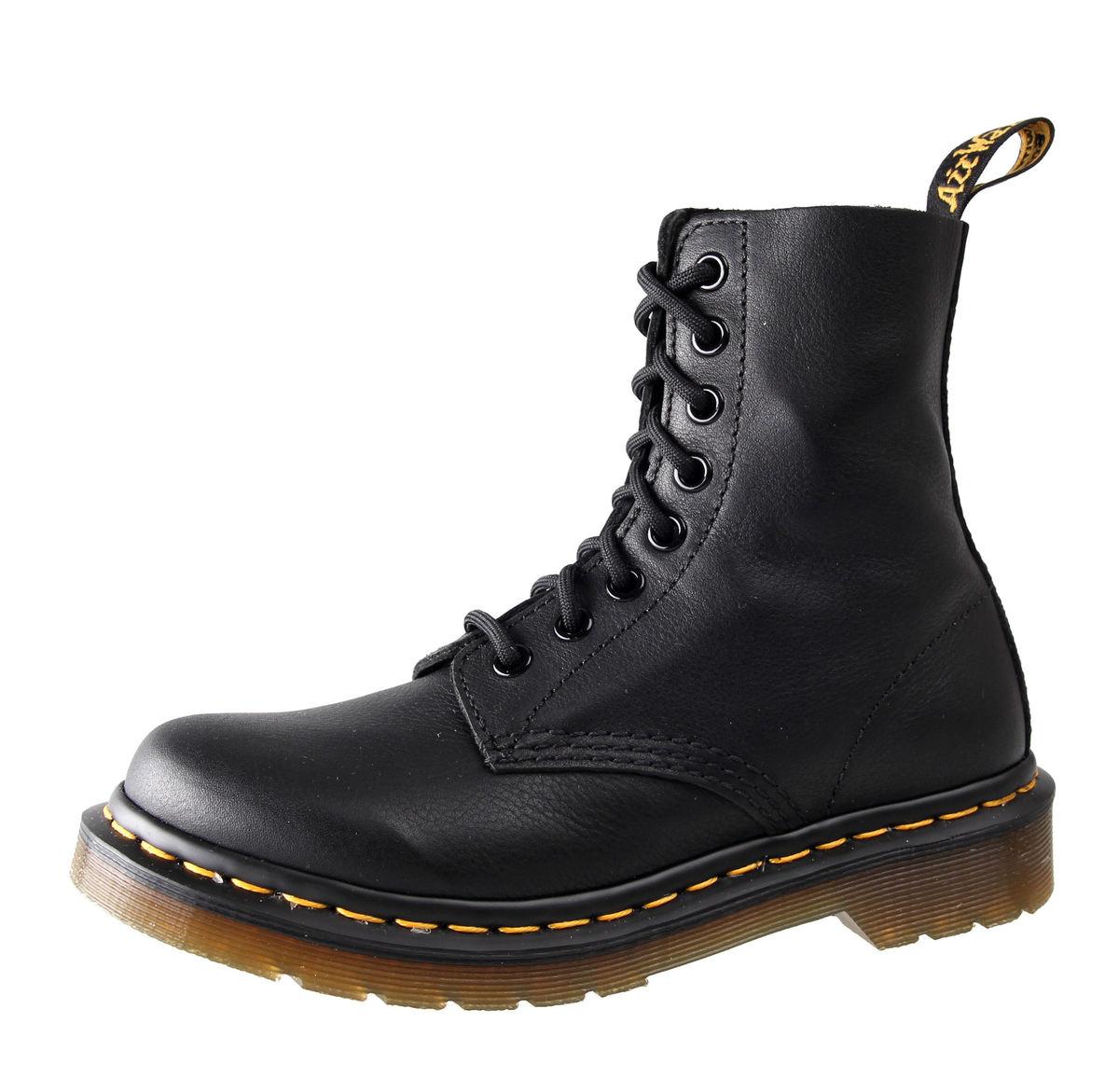 boty Dr. Martens - 8 dírkové - Pascal Black Virginia - DR002