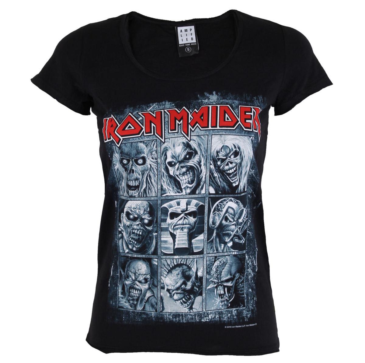 tričko dámské IRON MAIDEN - EDDIES - AMPLIFIED - AV6019ED